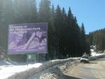 позиция IV-10.2 билборд вход Пампорово