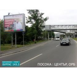 143.2 Билборд Бургас на бул. Тодор Александров